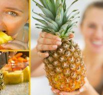 Haz la dieta de la piña y pierde 2 kilos en cinco días ¡Anímate!