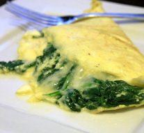 Omelette de espinacas – receta saludable