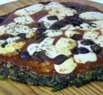 Pizza saludable: Con verduras y sin harina